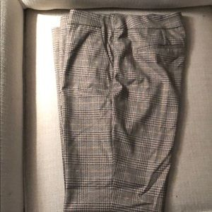 Chico's Houndtooth Print Dress Slacks 2R 12-14